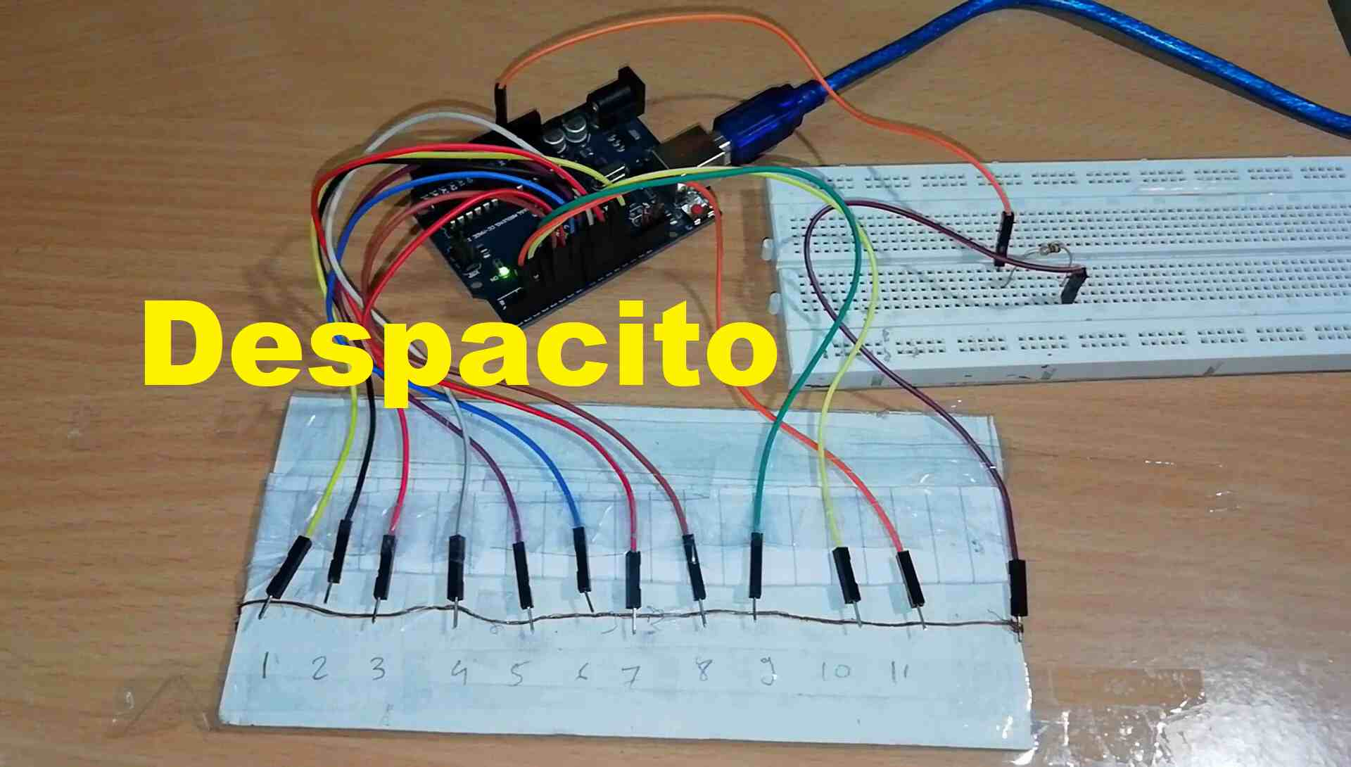 How to make Arduino piano.