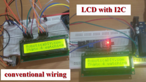 I2C vs coventional wiring LCD