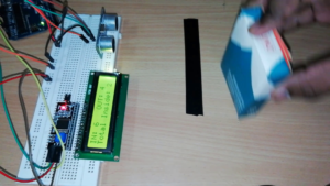 bidirectional counter using single ultrasonic sensor