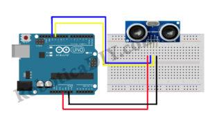 ultrasonic sensor circuit diagram