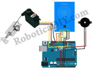 How to make RFID Door Lock.