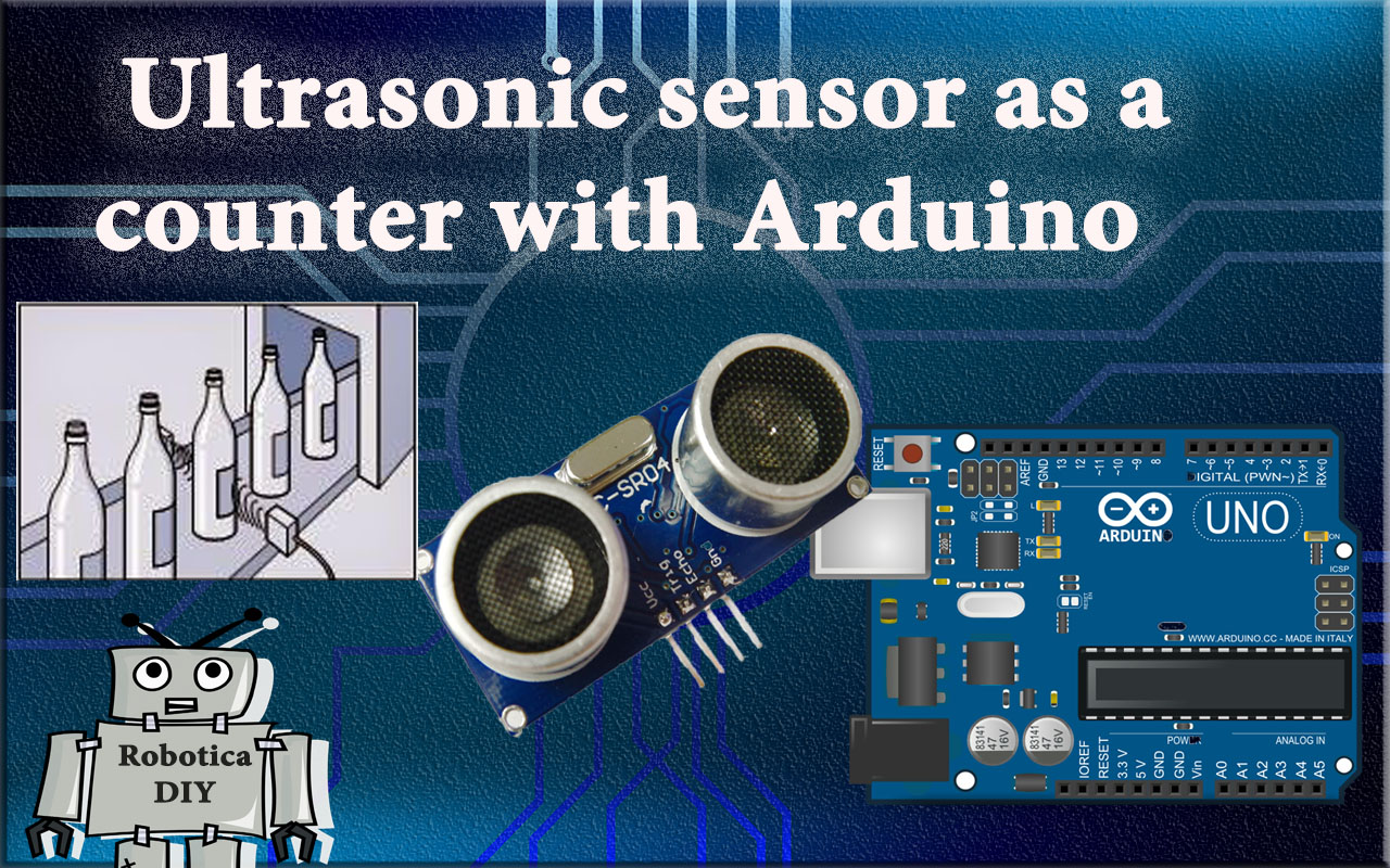 how to use ultrasonic sensor as a counter