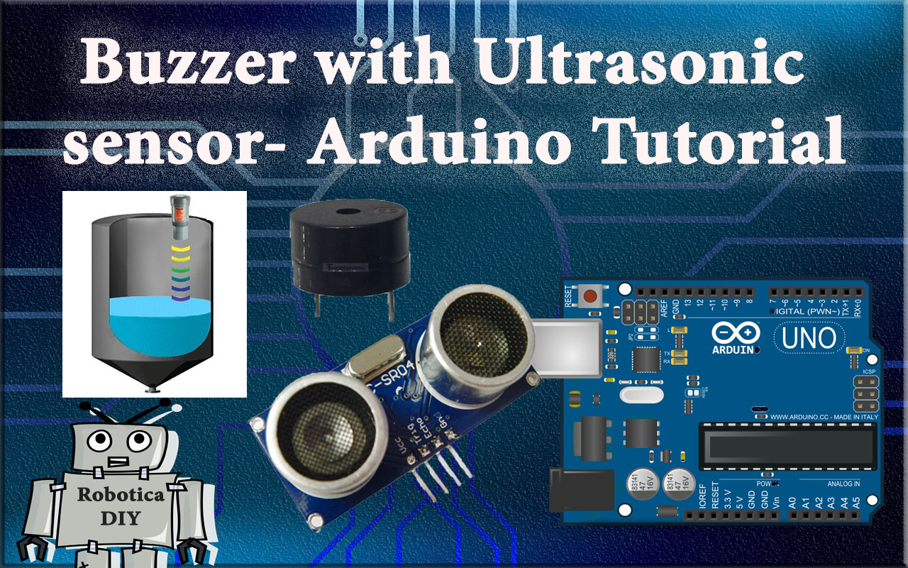 how to use buzzer with ultrasonic sensor