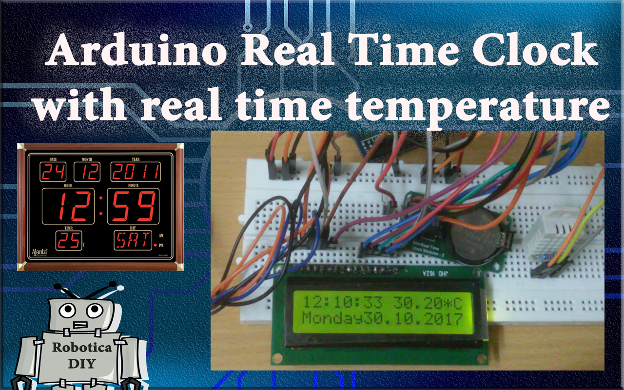 How to make Arduino real time clock