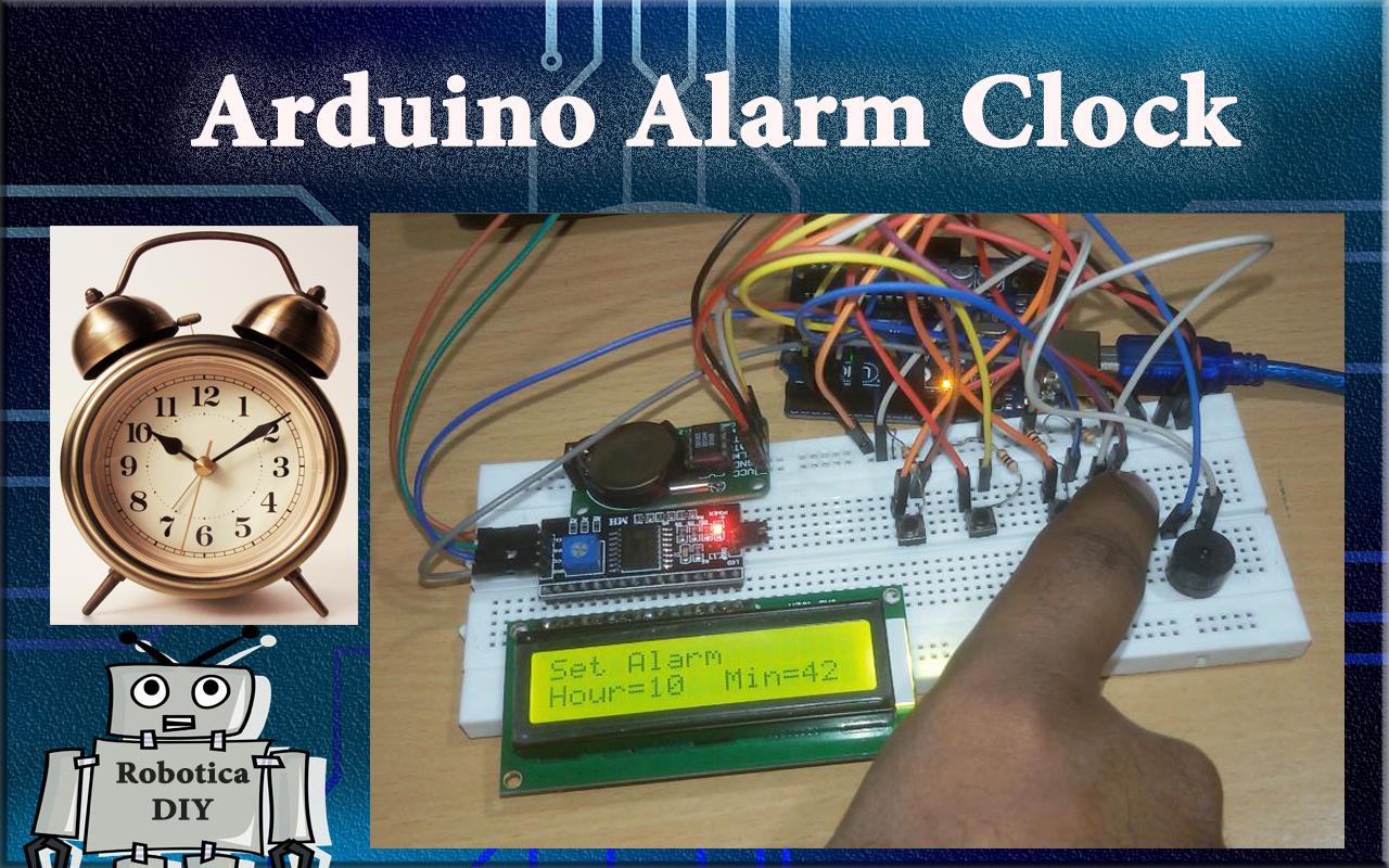 How to make Arduino alarm clock.