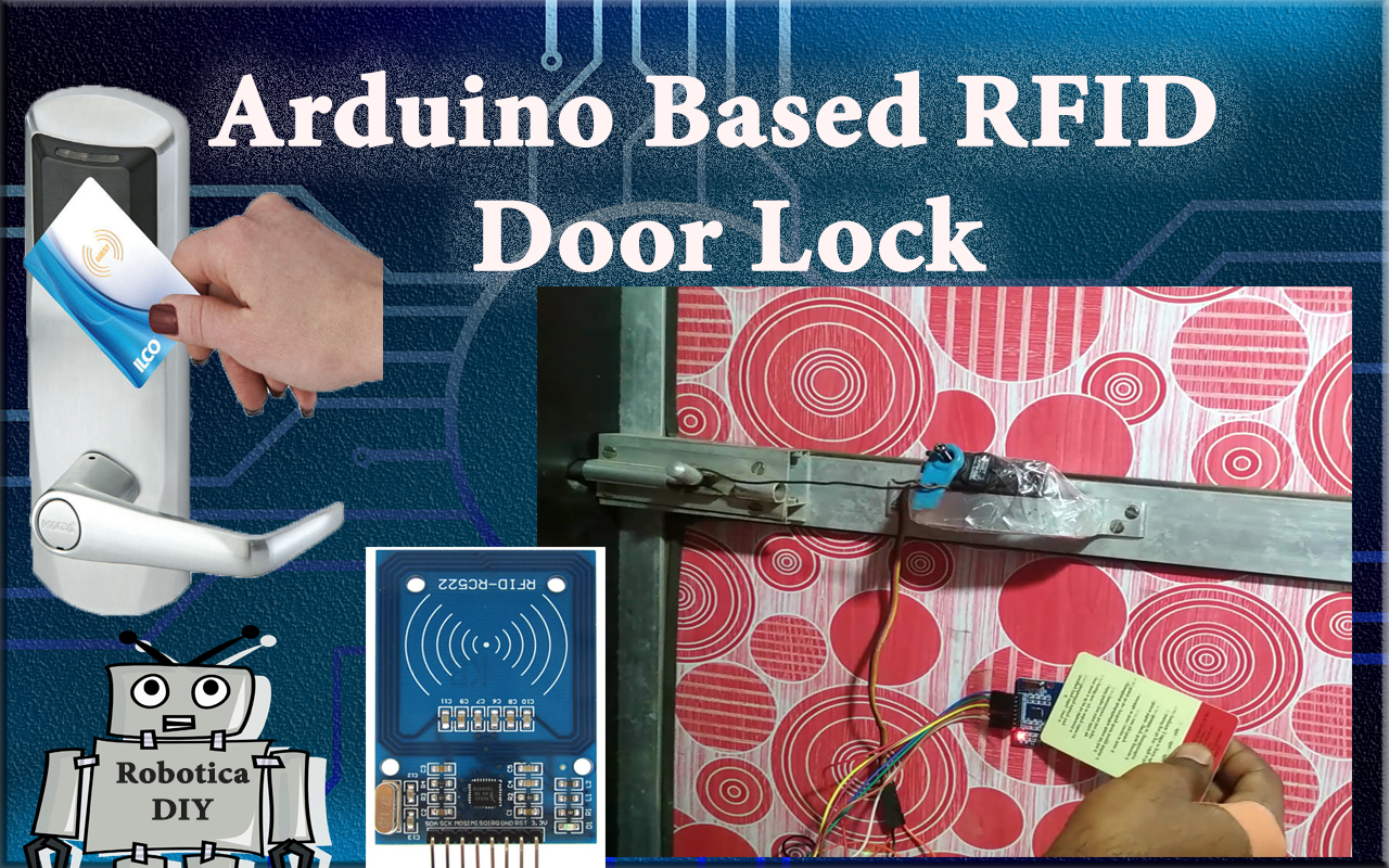 How to make RFID Door Lock.