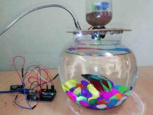 Automatic fish feeder using arduino
