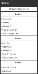 Bluetooth buttons