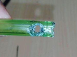 hole in pen