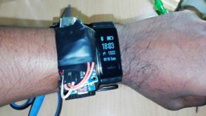arduino sleep tracking and fitness band