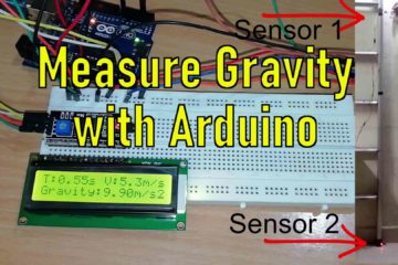 How to measure gravity, free fall velocity and free fall time with arduino