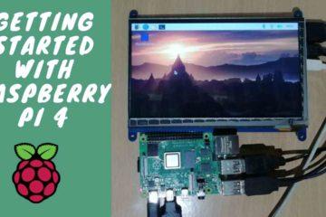 Raspberry pi 4 Setup for first time