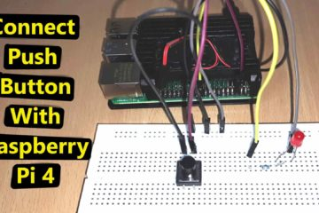 Push Button with Raspberry pi 4