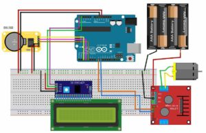 Automatic School Bell System Circuit Diagram