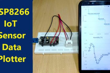 ESP8266 IoT Sensor Data Plotter