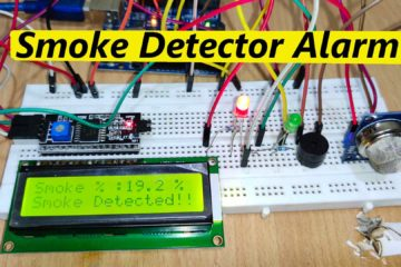 How to make smoke detector alarm fire alarm