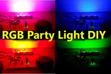 RGB party Light DIY