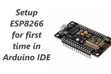 Setup ESP8266 first time in Arduino IDE
