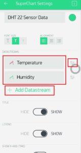 5. Add Datastream