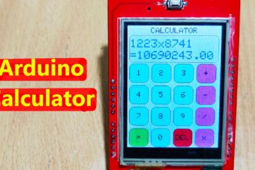 Arduino Calculator with TFT Touch Screen Display