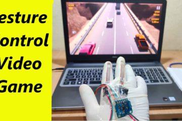 Gesture Control Game with Arduino Leonardo Project