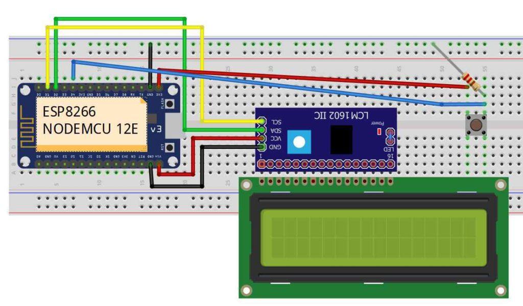 IoT Based Digital World Clock using ESP8266 circuit