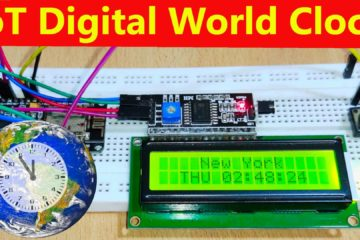 IoT Based Digital World Clock using ESP8266 thumbnail