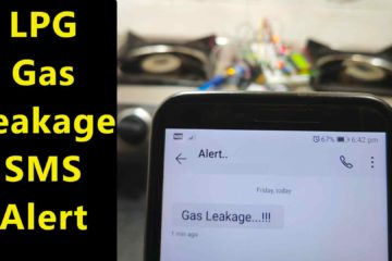 LPG Gas Leakage Detector with SMS Alert