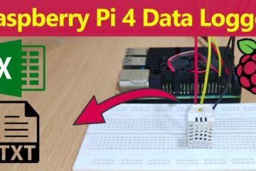 Raspberry Pi 4 Data Logger