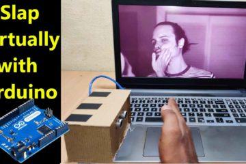 Slap virtually with arduino -Fun Project