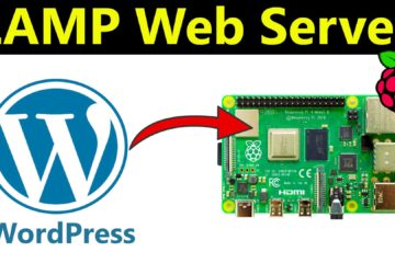 Raspberry Pi LAMP Web Server With Wordpress Thumbnail