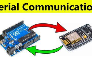 Send Data From Arduino to NodeMCU and NodeMCU to Arduino Via Serial Communication